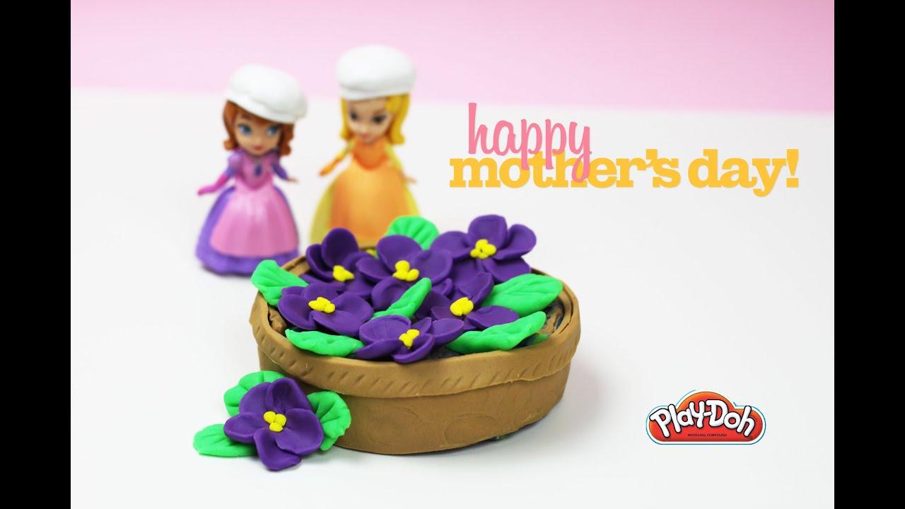 ✿ sofia cafe mother's day special playdoh jacaranda cake ✿ for