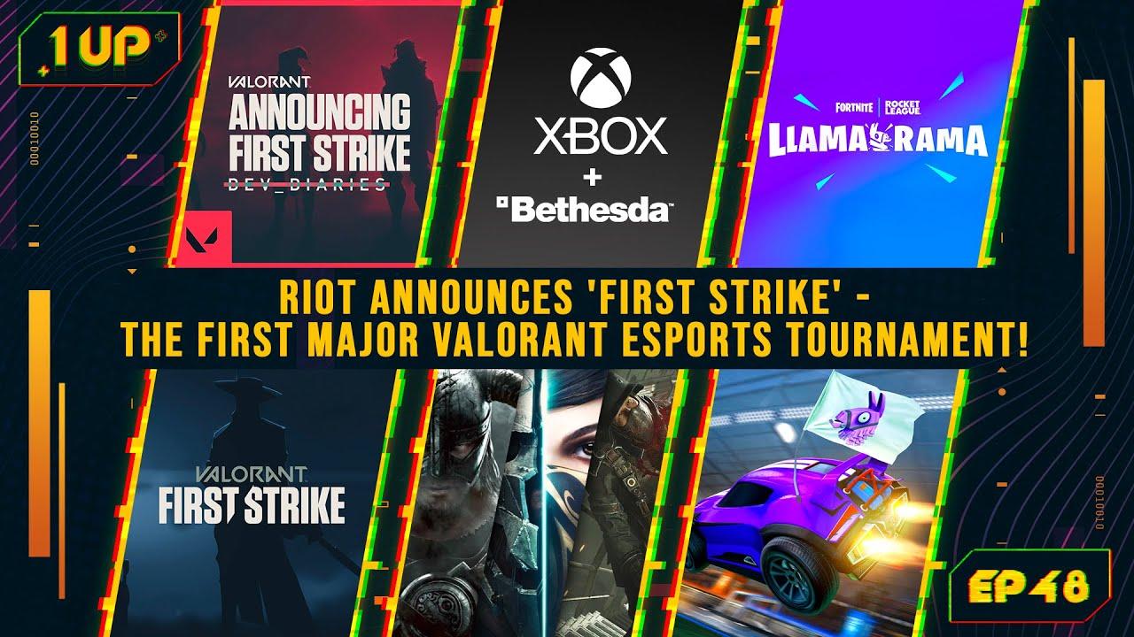 Riot Games announces the first major VALORANT esports tournament! 🔥 - 1UP Episode 48