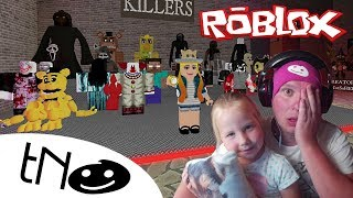 AGAIN we ARE AFRAID of The HORROR-The Scary Elevator! | Roblox | Daddy and Barunka CZ/SK