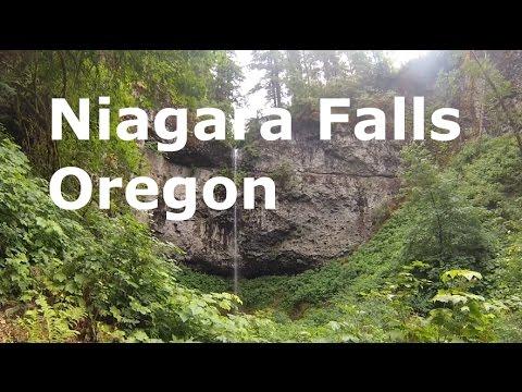 niagara falls oregon map Niagara Falls Oregon Hike Youtube niagara falls oregon map