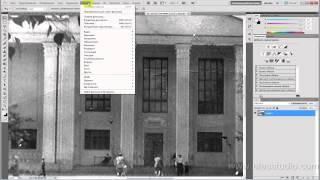 Реставрация старых фотографий. Придание цвета черно-белым фото.(В этом видео уроке вы научитесь реставрировать старые, черно-белые фотографии, убирать различные механичес..., 2013-05-12T19:27:16.000Z)