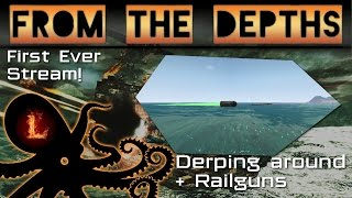 first ever derp stream from the depths