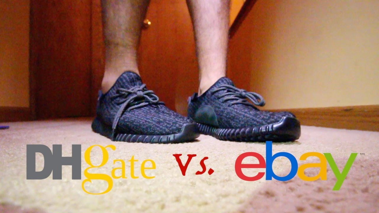 reputable site 6ee0a 623b4 Dhgate vs. Ebay Yeezy 350 Boost