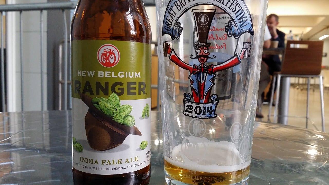 New Belgium Ranger IPA By New Belgium Brewing Company   American Craft Beer  Review