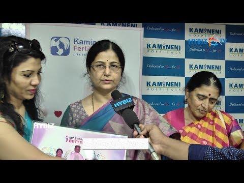 Kamineni Fertility Center India's healthcare Excellence Awarded Dr. Vasundhara Kamineni