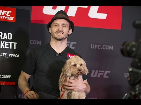 Interview with Brad Pickett at UFC London Media Day