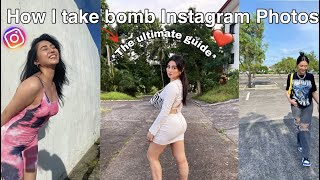 Tips on How t๐ take Instagram Worthy pictures!!!