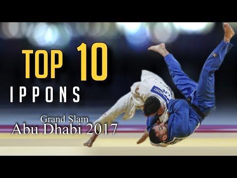 TOP 10 IPPONS | Grand Slam Abu Dhabi 2017 | JudoHeroes