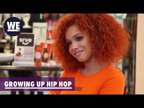 Kyndall Joins the Crew   Growing Up Hip Hop  WE tv