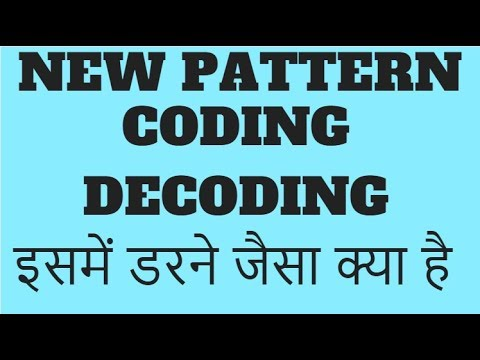 NEW PATTERN CODING DECODING || APPROACH TO SOLVE || VERY EASY TO GAIN 5 MARKS