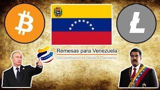 Venezuela Remesas Platform will use BITCOIN & LITECOIN - $60M in Bitcoin Traded in 2019 - HODL!