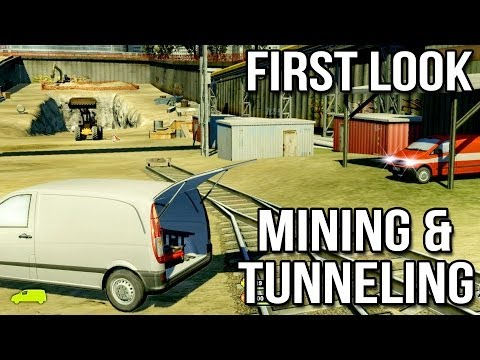 Mining and Tunneling Simulator - First Look