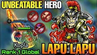 Lapu Lapu The Unbeatable Hero - Top 1 Global Lapu Lapu Ķopla - Mobile Legends