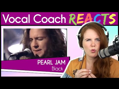 Vocal Coach Reacts To Pearl Jam (Eddie Vedder) - Black Unplugged Live