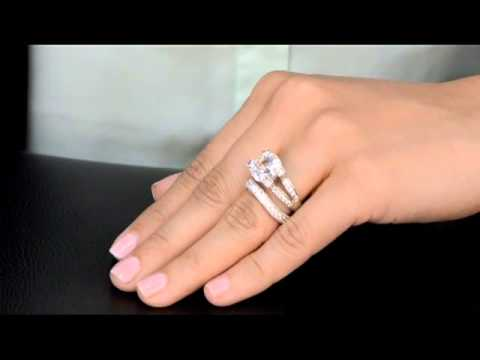 Elizabeths Fake Engagement Ring Sashas Cubic Zirconia Wedding