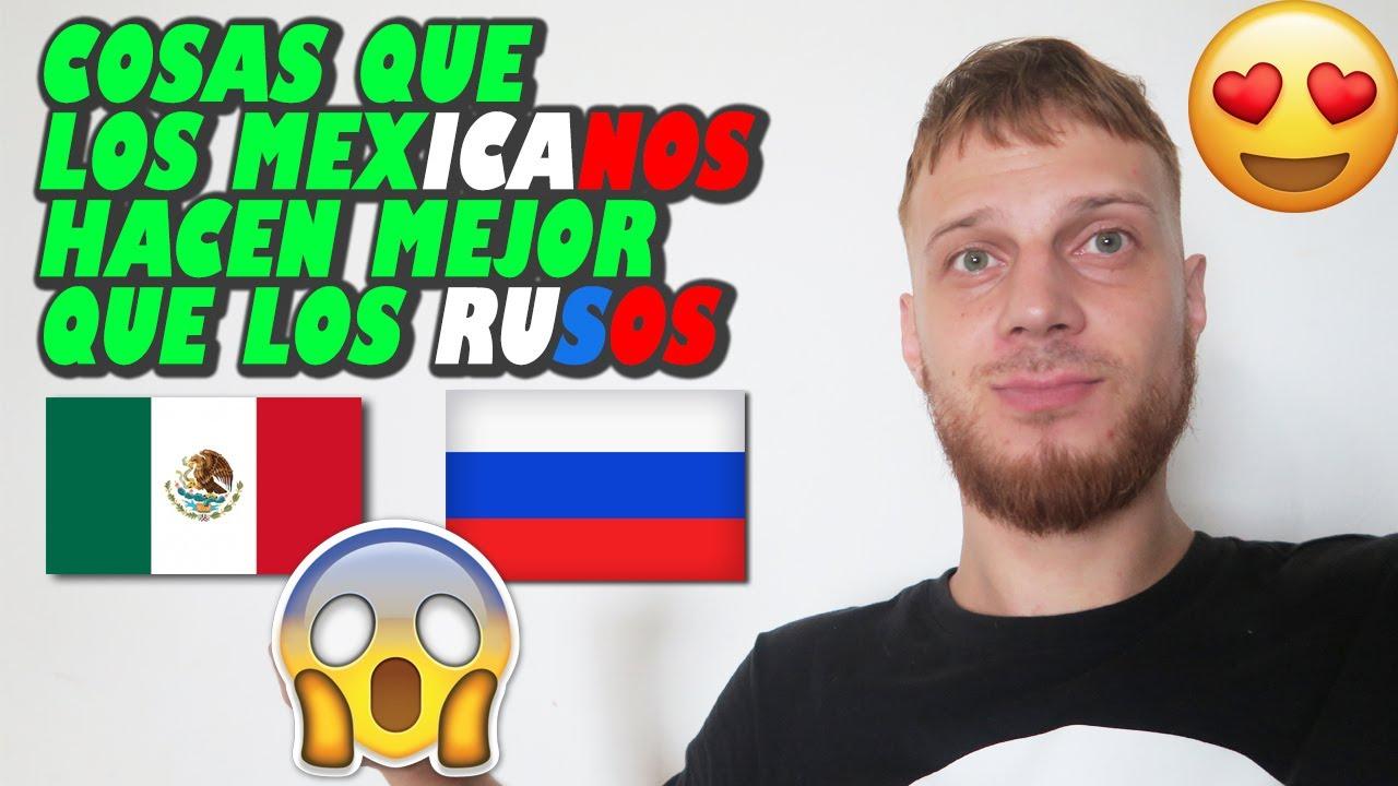 COSAS que LOS RUSOS deberían APRENDER (ADOPTAR) de LOS MEXICANOS