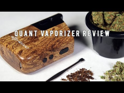 Quant Dry Herb Vaporizer Review