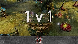 Dawn of War 2: Retribution - 1v1   Toilailee - Lord General [vs] Floid - Hive Tyrant