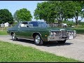 1972 Ford Galaxie 500 2 Door in Green & 351 Engine Sound on My Car Story with Lou Costabile