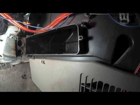 Замена радиатора печки на Калине 1117