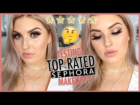 FULL FACE of TOP RATED MAKEUP 🤔💕 Sephora Tutorial!