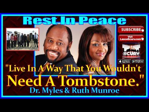 R.I.P. Dr. Myles Munroe: April 20, 1954 - November 9, 2014