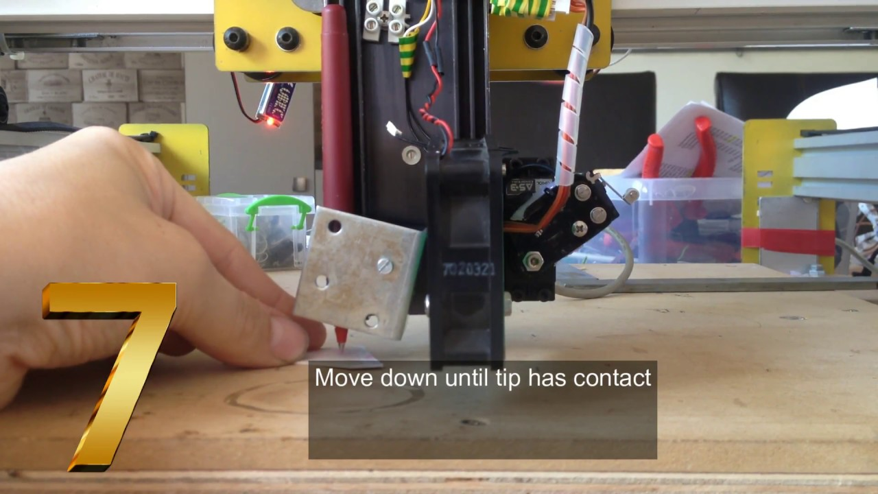 3D printer : how to calibrate nozzle in 16 steps : Z offset with latest  marlin firmware 1 1 3 2