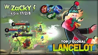 Lancelot not Worth it After Nerf? Think Again! ᵂᶜ ZαCkϒ⚡ Top 1 Global Lancelot ~ Mobile Legends