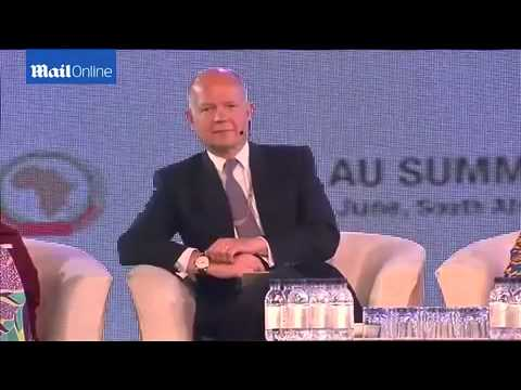 Angelina Jolie and William Hague team up for African summit   Daily Mail Online 1418450360 429386590
