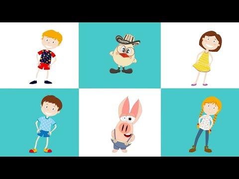 Daca vesel se traieste (Claudia Pavel) - Clopotelul Magic - cantece pentru copii