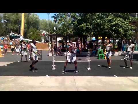 African acrobats elitch garden. Denver colorado