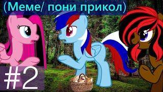 Меме пони приколandquotКак Дэш и Джетикс Заблудились в Лесуandquot 2
