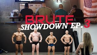 Brute Showdown Episode 3: Deadlift, Physique Show & Burger Challenge