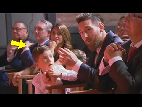 Look at what Mateo Messi did during Golden Shoe Ceremony | MrMatador