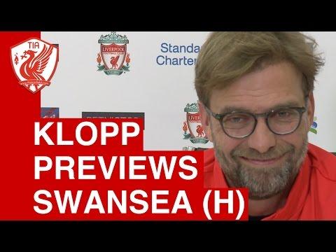 Jurgen Klopp Match Press Conference - Liverpool vs. Swansea City