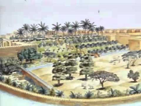 The hanging gardens of Babylon Seven wonders of the ancient world 2 7
