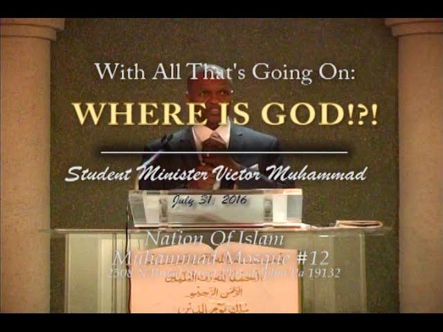 Where is God!?!