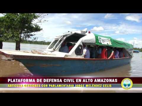 PLATAFORMA DE DEFENSA CIVIL EN A.A. ARTICULA GESTIONES CON PARLAMENTARIO JORGE MELÉNDEZ