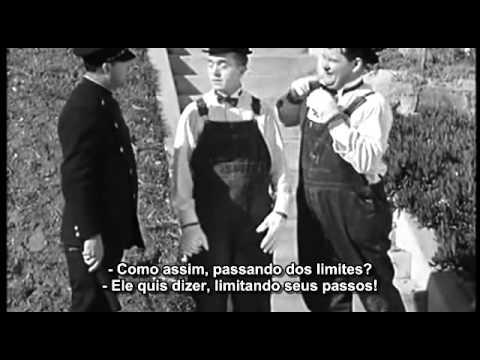 O Gordo E O Magro Entrega A Domicilio 1932 Legendado Youtube