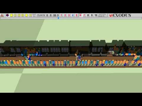 Evacuation Simulation of a train in a tunnel on fire – part 2 OWG train side doors