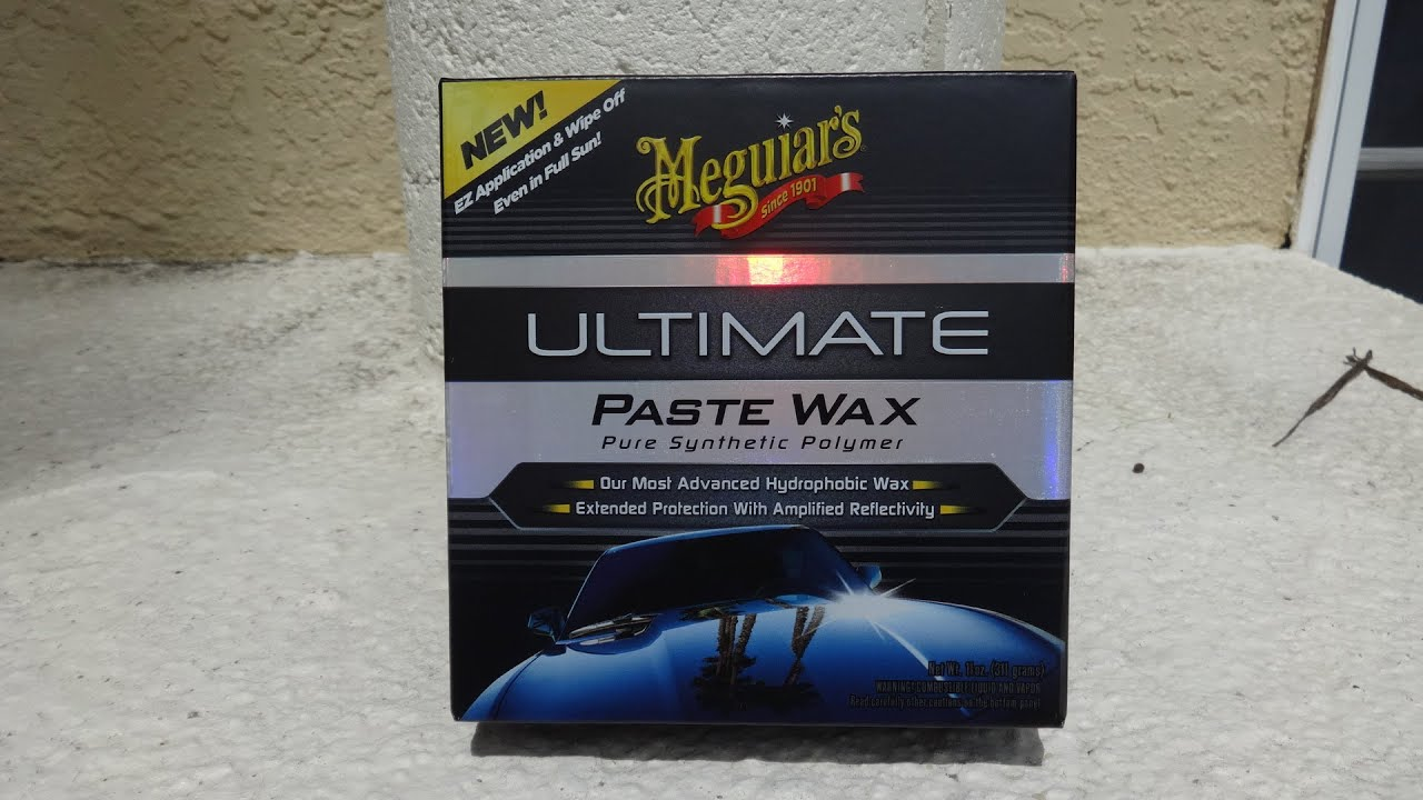meguiars ultimate paste wax test review before and after results walk through 1991 honda. Black Bedroom Furniture Sets. Home Design Ideas