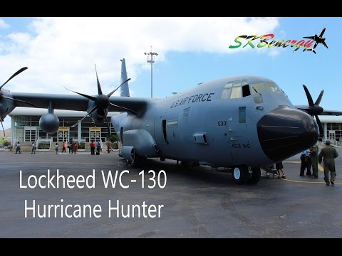 Lockheed WC-130 Hurricane Hunter @ St. Kitts Robert L. Bradshaw Int'l Airport