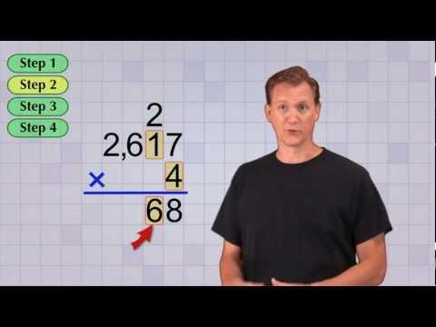Math Antics Multi-digit Multiplication Pt 1