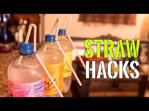6 Awesome Straw Hacks
