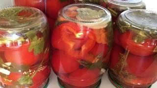 Рецепт один, а 5 разных вкусов. Очень вкусные маринованные помидоры