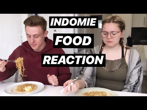 Brtish Students Try To Cook INDOMIE (Subtitle Indonesia Di Settings)