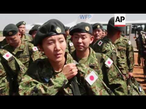 Japanese peacekeeping force deploys in Juba
