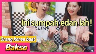 [reaksi orang korea] Kuliner makanan Indonesia di Seoul Part 2! Mau makan Bakso, disini tempatnya!
