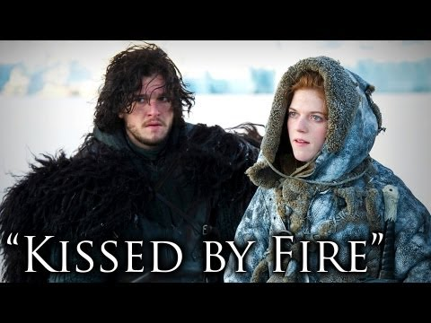 "'Game Of Thrones' Season 3, ""Kissed by Fire"""