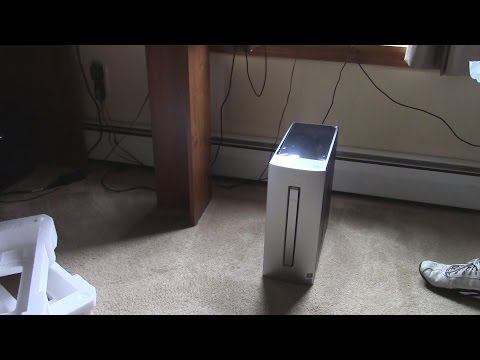 HP Envy 750-050XT Desktop unboxing/setup!